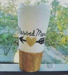 Check out this item in my Etsy shop https://www.etsy.com/listing/464224488/blessed-mama-coffee-tumbler-blessed-mama