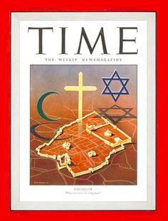 TIME Magazine Cover: Jerusalem - Aug. 26, 1946 - Jerusalem - Judaism - Islam - Christianity - Religion - Palestine - Israel - Middle East