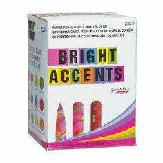 Supernail Acrylic Nail Kit, Bright Accents by Supernail. $45.97. Create anything…