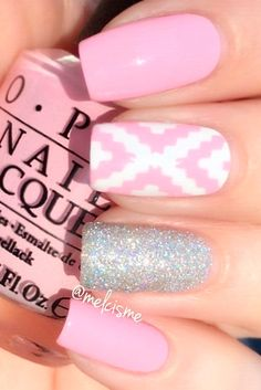 Daily charm over 50 designs for perfect pink nails fluorescent nail polish. Black Nail Designs, Pretty Nail Designs, Pretty Nail Art, Nail Art Designs, Hot Pink Nails, Pink Nail Art, Pink Nail Polish, Fluorescent Nails, Red Manicure