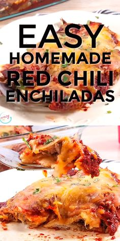 These healthy beef enchiladas use shredded carne asada and a homemade red sauce for a delicious and authentic enchilada recipe. These are skinny beef enchiladas, but nobody will know theyre healthy–theyre that delicious! Authentic Mexican Recipes, Authentic Enchilada Recipe, Enchilada Recipes, Mexican Food Recipes, Spanish Recipes, Weight Watchers Enchiladas, Enchiladas Healthy, Beef Enchiladas, Healthy Recipe Videos