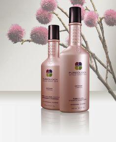 pureology volumizing shampoo & conditioner