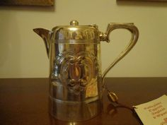 Teiera vittoriana con certificato di garanzia - Victorian Teapot with warranty