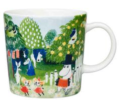 Moomin art in an everyday experience A collaboration between Arabia and Tampere Art Museum has produced Tove Jansson's art in. Moomin Shop, Moomin Mugs, Tove Jansson, Moomin Valley, Nordic Design, Marimekko, Helsinki, Wonderful Images, The Book