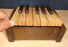 Full sized piano...
