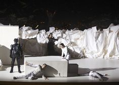 Frank Gehry's paper stage set for Mozart's Don Giovanni opera - Dezeen