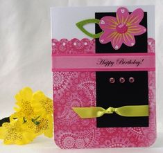 GREETING CARD IDEAS - INSTRUCTIONS ON HOW TO MAKE LOTS OF HANDMADE ...