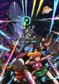Jayce and the Wheeled Warriors by NOENDER.deviantart.com on @deviantART Best Cartoons Ever, Old Cartoons, Classic Cartoons, Retro Cartoons, Dic Entertainment, French Anime, Nostalgia, Saturday Morning Cartoons, Comic Games