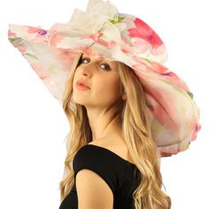 Perfect for vacation and cruise attire. Elegant luxurious Sinamay layered fishnet with fuzzy tiny pom poms for the sexy dramatic look. Race Day Hats, Cruise Attire, Ruffled Feathers, Tea Party Hats, Floppy Hats, Church Dresses, Hat Shop, Dress Hats, Kentucky Derby