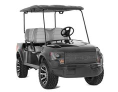 ... out in the fairways with this Ford Raptor golf cart - AutoPinas.com