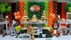 decoração de festa infantil de 1 ano masculino - Google Search