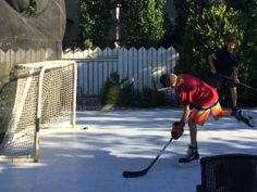 Lace Up Your Skates And Play Ice Hockey In The Sunshine, All Summer Long. Synthetic  Ice Rinks Are An Ideal Way To Give Budding Hockey Players The Ice Time ...
