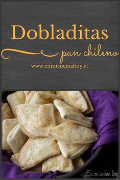 Dobladitas Tattoos And Body Art japanese tattoo art Bread Recipes, Pizza Recipes, Chilean Recipes, Chilean Food, Salty Foods, Comida Latina, Tasty, Yummy Food, Pan Bread