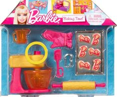 Barbie Baking Time Cooking Doll Accessories imagination play -- To view further for this item, visit the image link.