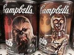 star wars campbells soup #StarWars
