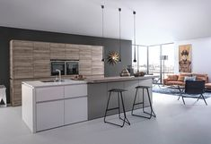 Handle-less kitchens › Kitchen › Kitchen | LEICHT – Modern kitchen design for contemporary living