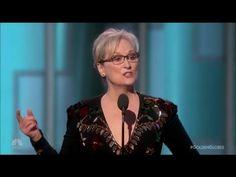 Meryl Streep: Martyr or Moron? (2017 Golden Globes Speech) - YouTube