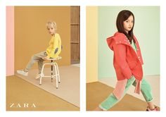 Streeters - News - Zara Kids Spring/Summer 2015 Campaign : Lookbooks - the Technology behind the Talent.