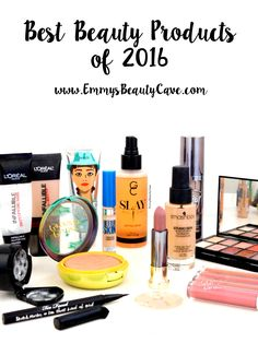 The Best Beauty Releases of 2016, Makeup for oily skin, Physicians Formula Butter Bronzer, Smashbox Studio Skin Foundation, ColourPop Ultra Satins, Loreal Infallible, Urban Decay All Nighter, Makeup Revolution New Trals vs Neutrals, Post includes swatches