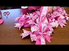 How to Make a Burlap Wreath With Cotton Accents by Creative Gift Packaging - YouTube