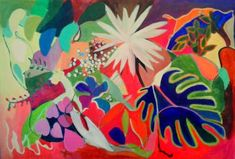 "Saatchi Art Artist ELAINE KEHEW; Painting, ""Homage to Matisse"" #art"
