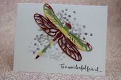 Framelits Die Technique using Dragonfly Dreams from Occassions Catalog - Stampin' Up!