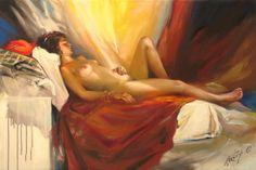 sait of artist Lightbox, Pictures, Painting, Website, Girls, Human Figures, Artists, Art, Photos
