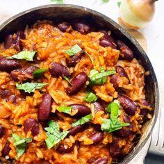 Vegan Vegetarian, Vegetarian Recipes, Healthy Recipes, Plats Healthy, Eating Well, Paella, Food Inspiration, Meal Prep, Carrots