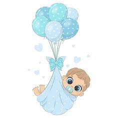 Baby Boy Art, Baby Shawer, Baby Clip Art, Boy Or Girl, Dibujos Baby Shower, Imprimibles Baby Shower, Baby Shower Clipart, Baby Girl Clipart, Fiesta Baby Shower