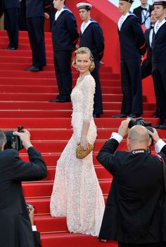 """Herzigova attends opening ceremony and """"Moonrise Kingdom"""" premiere during the 65th Annual Cannes Film Festival"""