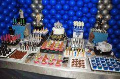 #JediRafa #R2D2 #StarWars Star wars brithday Party Boutique Festas