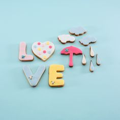 "Pack ""Love"" Galletas decoradas"