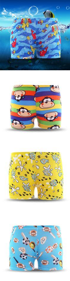 2016 New Summer Diving Swim Wear Speedo Cartoon Baby Kids Child Boys Swimming Trunks children Swimwear Cool Beach Shorts GH224
