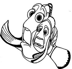 Kids love to read about nemo and how about giving them printable finding nemo coloring pages. This is an excellent way to express creativity in your child. Finding Nemo Coloring Pages, Turtle Coloring Pages, Coloring Pages For Girls, Coloring Pages To Print, Free Coloring Pages, Coloring For Kids, Coloring Books, Coloring Sheets, Dory Drawing