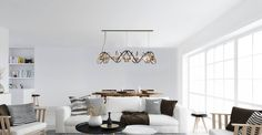And much more. Ceiling Lamps, Luxury Lighting, Dining Room Lighting, Light Decorations, Portuguese, Luxury Furniture, Luxury Lifestyle, Backstage, Luxury Homes