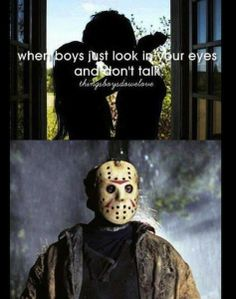 things boys do we love, jason voorhees