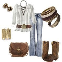 perfect antique shoppin' outfit