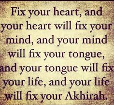 Allah Fix all the things