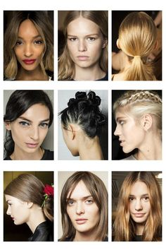 See all the latest hair trends from the spring summer 2015 catwalks, from ponytails and up-dos to short haircuts and bobs. SS15's best hairstyle ideas, all in one place.