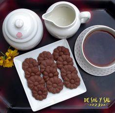 De sol y sal: Galletas de chocolate con pistola