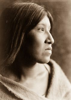 1924: A Cahuilla woman // Edward S. Curtis spent more than 20 years documenting over 80 tribes across North America.