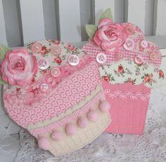Shabby Chic Cupcake Embellishments