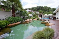 Lago com Acabamento Premium Koi Fish Pond, Fish Ponds, Topiary Garden, Garden Pool, Florida Pool, Outdoor Rooms, Yard Landscaping, Water Features, Fish Tank