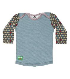 Lylie Smilie Long Sleeve Tee by Oishi-m Childrens Gifts, Baby Kids Clothes, Long Shorts, Cool Kids, Cute Babies, Kids Outfits, Kids Fashion, Long Sleeve Tees, T Shirt