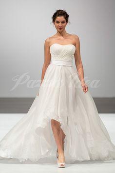 Abito da sposa corto 2014 Giuseppe Papini. #wedding #bride #weddingdress