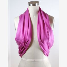 Re-purpose your infinity scarf from last season into a versatile shrug
