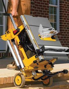 Dewalt DW744XRS & DEWALT DW744X Power Tool Storage, Power Tools, Best Table Saw, Electrical Tools