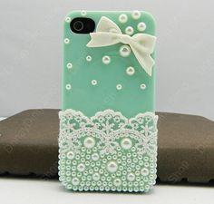 Lace Bow  case  iPhone case iPhone 4 case iPhone 4s by dnnayding, $19.99