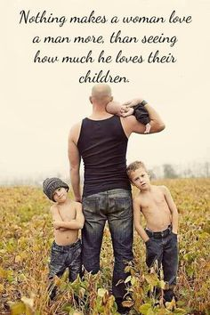 Truth.  Looks like my family... Only, the husband would have hair and the boys would have shirts.