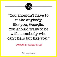Quote from Landline by Rainbow Rowell
